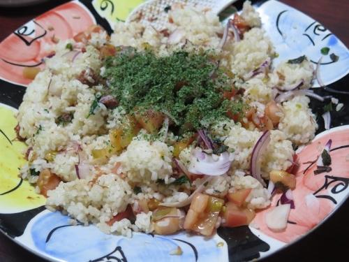 謎のサラダご飯