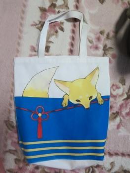 鳴き狐バッグ