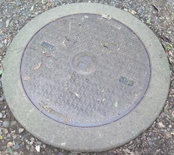 座間谷戸山公園 電気マンホール