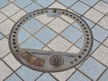 浜松市 下水マンホール