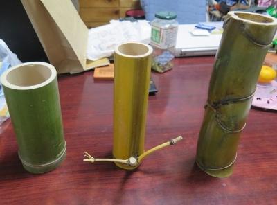 日比谷公園で買った竹細工