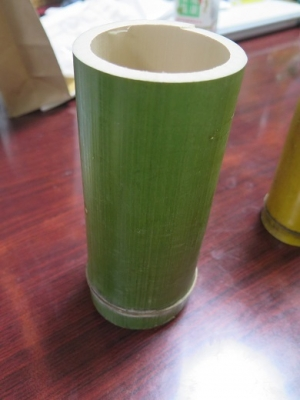 日比谷公園で頂いた竹細工