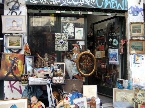 アテネ_プシリの商店街 (1)
