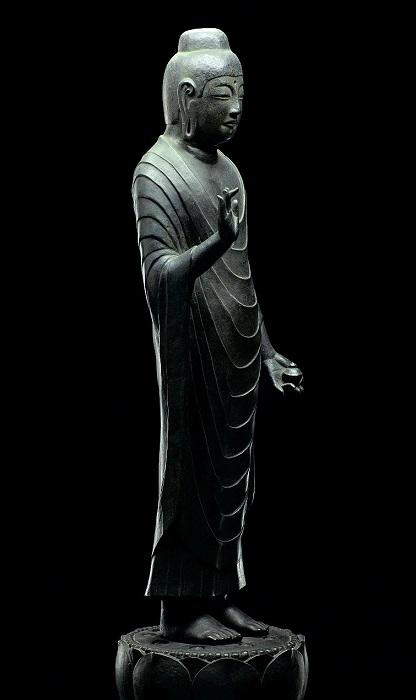 東慶寺蔵~香薬師像・鋳造模造