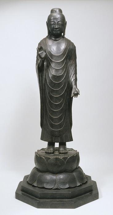 奈良国立博物館蔵~香薬師像・鋳造模造