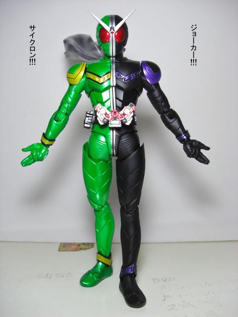仮面ライダーWとピコファニーひめの1