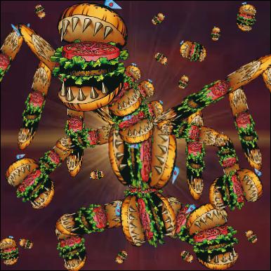 宇宙最大の食の巨神(ユニバース・バーガー・ジャイアント)