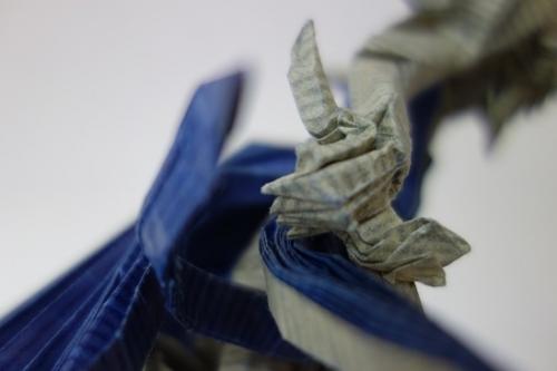 再生紙の剣士台座 (3)