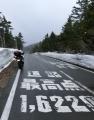 4月30日去年のリベンジだが吹雪