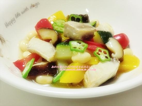 ぶりと彩り野菜の南蛮煮♪