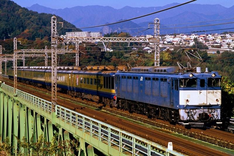 1999年11月14日 猿橋~鳥沢にて