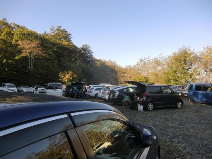 上日川峠第3駐車場