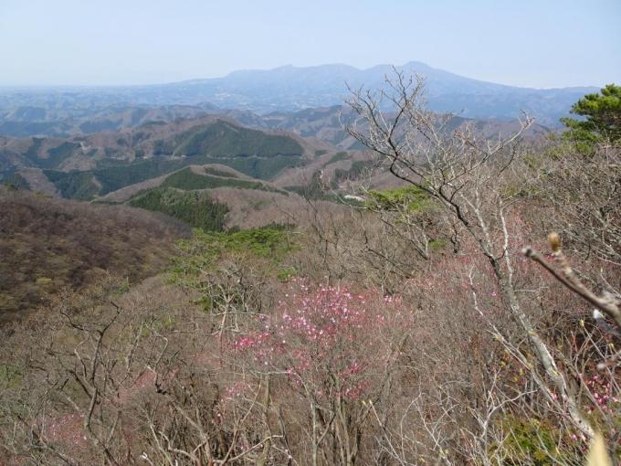 第一展望台から赤城山
