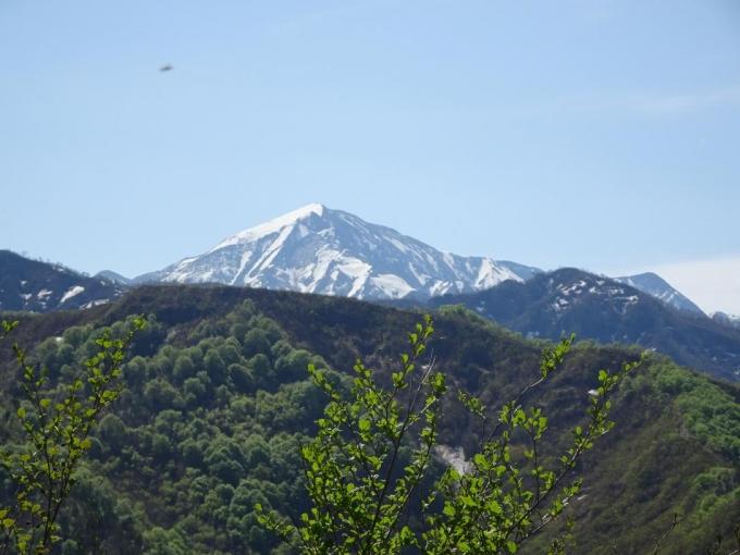 越後駒ヶ岳と中ノ岳