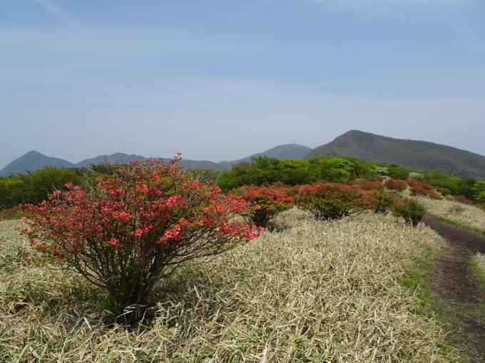竈山から荒山・地蔵岳