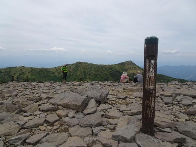 湯の丸山(南峰)へ