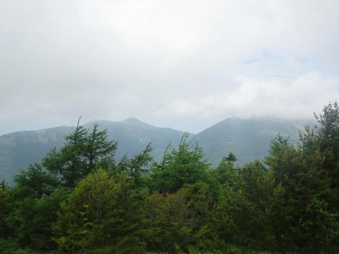 湯の丸山・烏帽子岳