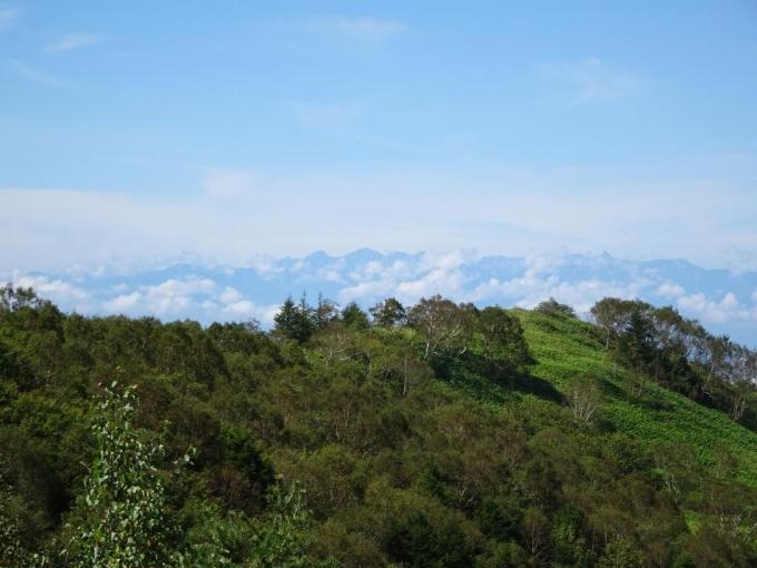 穂高連峰から槍ヶ岳