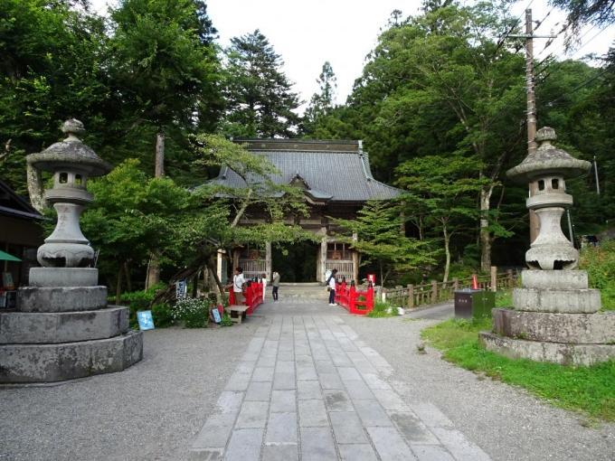 榛名神社へ