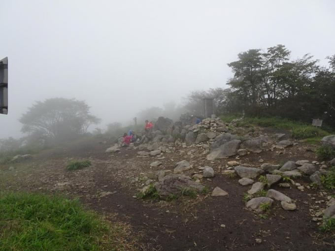 到着時の山頂