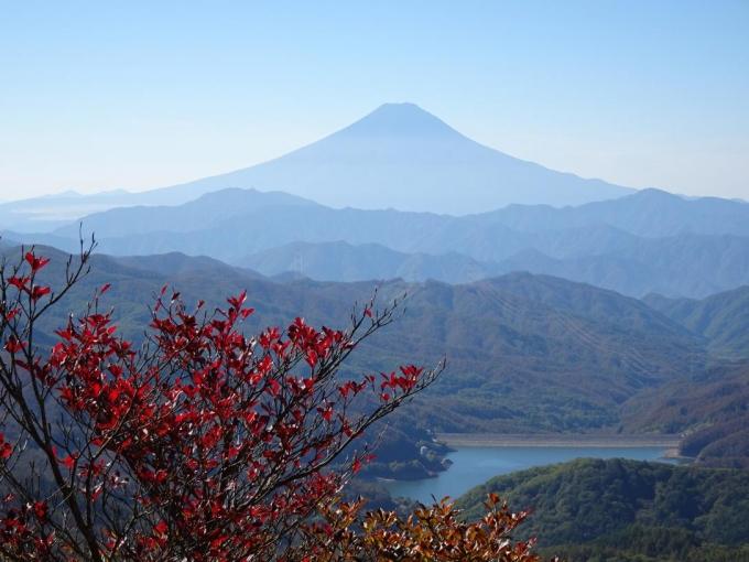 紅葉と富士山Ⅱ