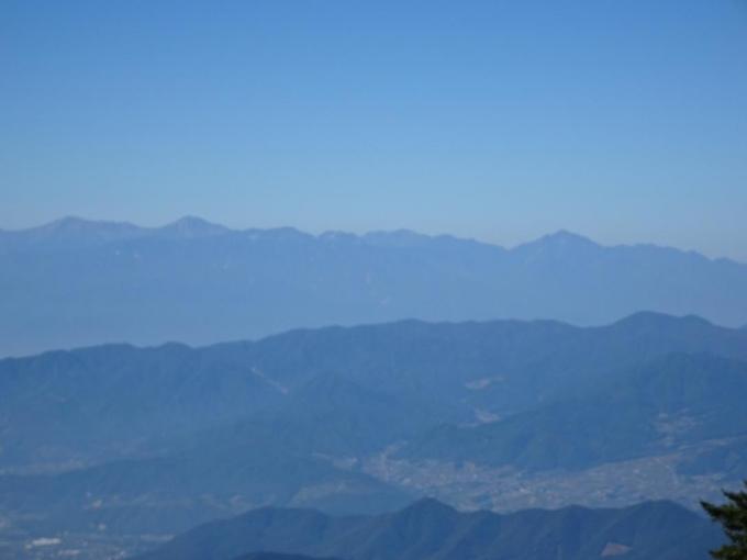 甲斐駒ケ岳、白鳳三山