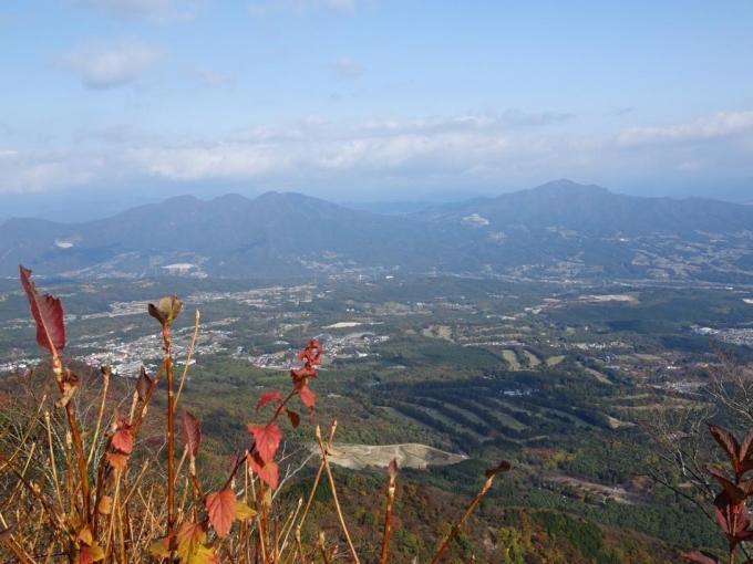 子持山と小野子三山