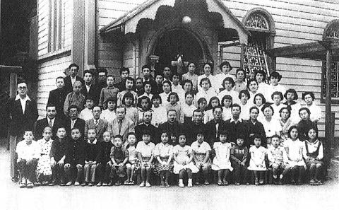 カトリック幼稚園記念写真