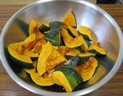 かぼちゃ種取り⑤
