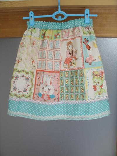 kawaiiダブルガーゼのギャザースカート