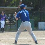 2本の二塁打を放った田中