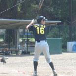 6256回表、先頭の伊藤(永)が二塁打で出塁
