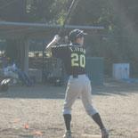 7回表、伊藤(永)の内野安打で二死満塁