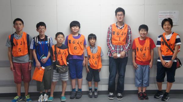 0801社団戦二日目棋ジチーム