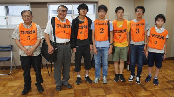 0801社団戦二日目文旅チーム