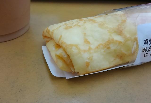 ブルーベリーレアチーズクレープ3