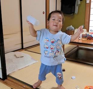 よちよち歩き (2)