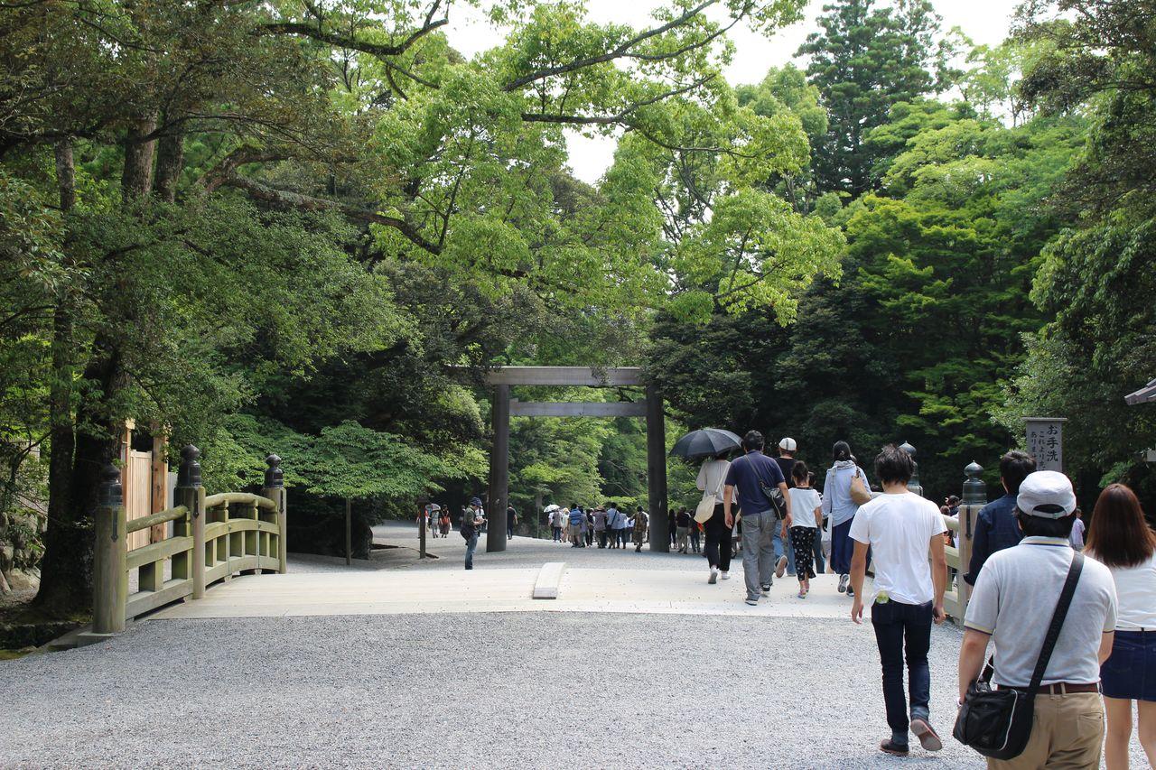 伊勢神宮(内宮)2016夏-12