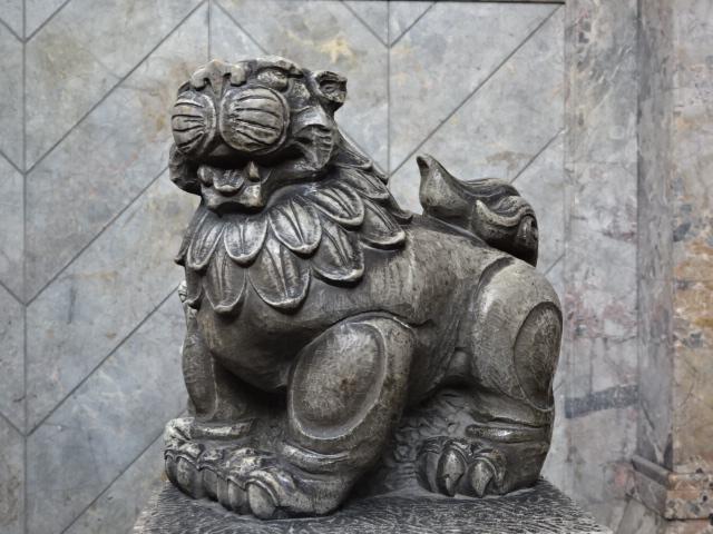 築地本願寺 獅子