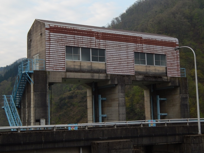 DSCN0088上市川第二ダム