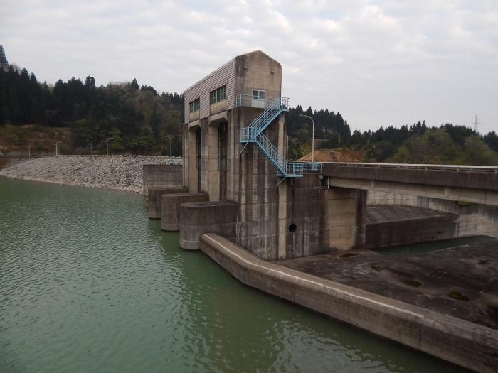 DSCN0090上市川第二ダム