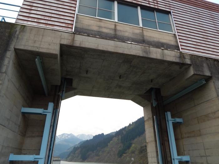 DSCN0112上市川第二ダム