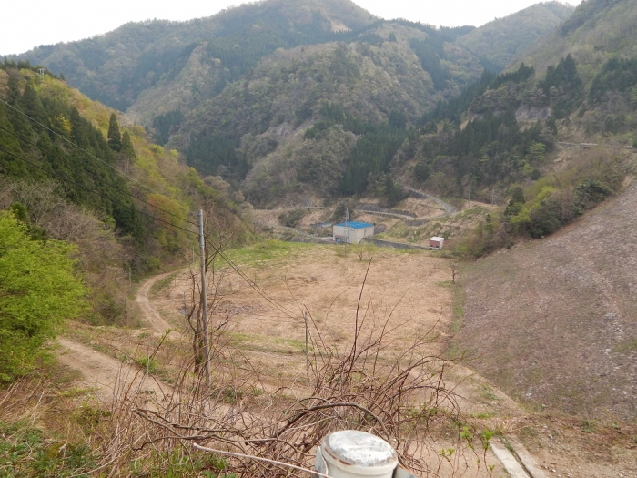DSCN0142上市川第二ダム