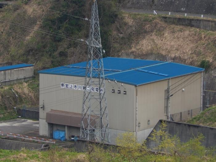 DSCN0143上市川第二ダム