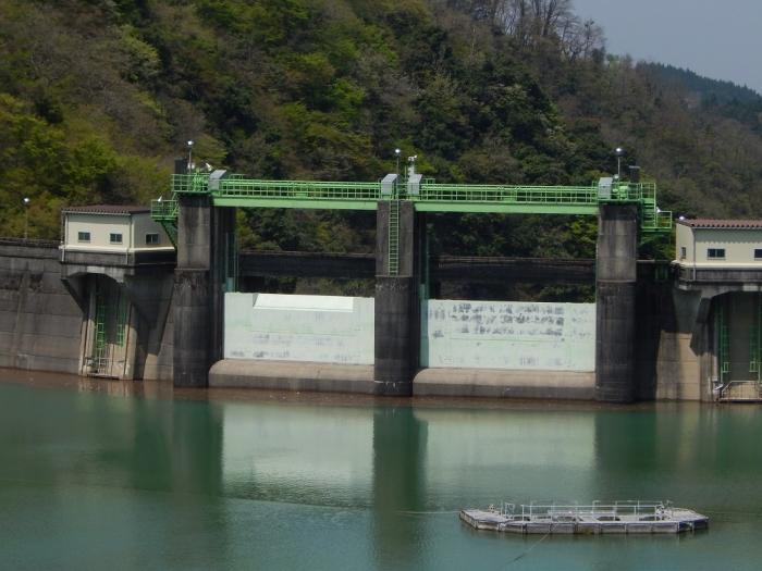 DSCN0334室牧ダム