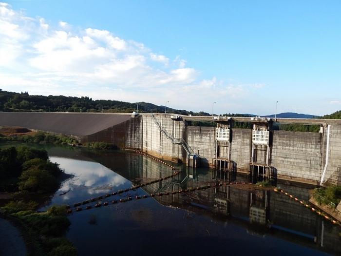 DSCN1487月光川ダム