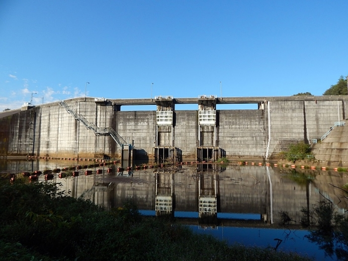 DSCN1496月光川ダム