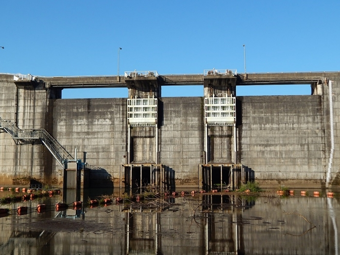 DSCN1497月光川ダム