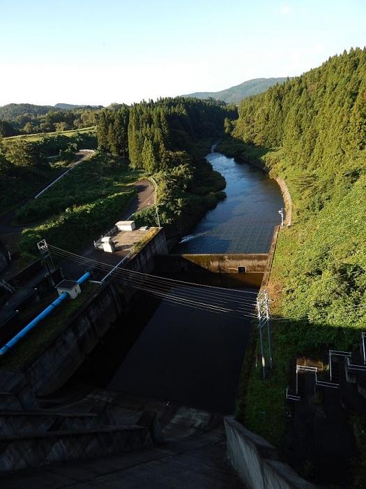 DSCN1512月光川ダム