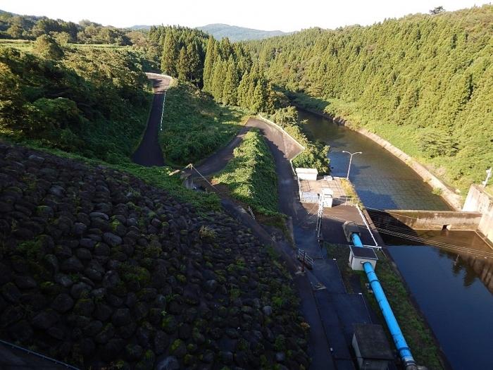 DSCN1529月光川ダム